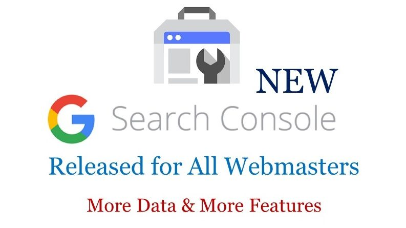 Google Released New Search Console with More Data & More Features