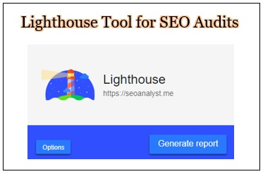 Lighthouse Tool for SEO Audit 2018 Tips and Tricks