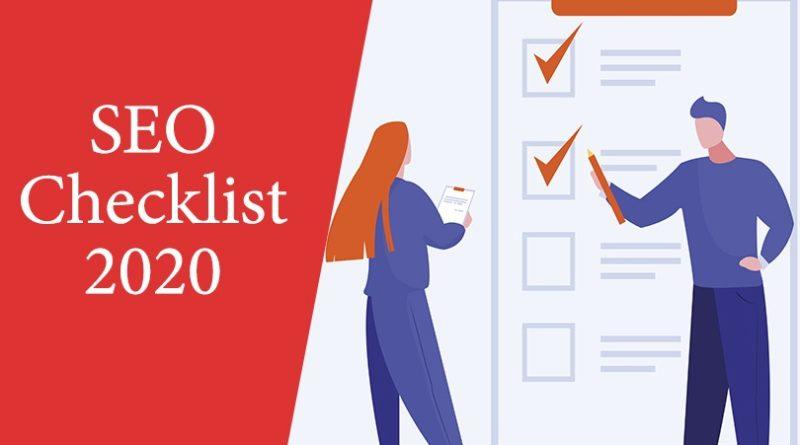 SEO Checklist 2020